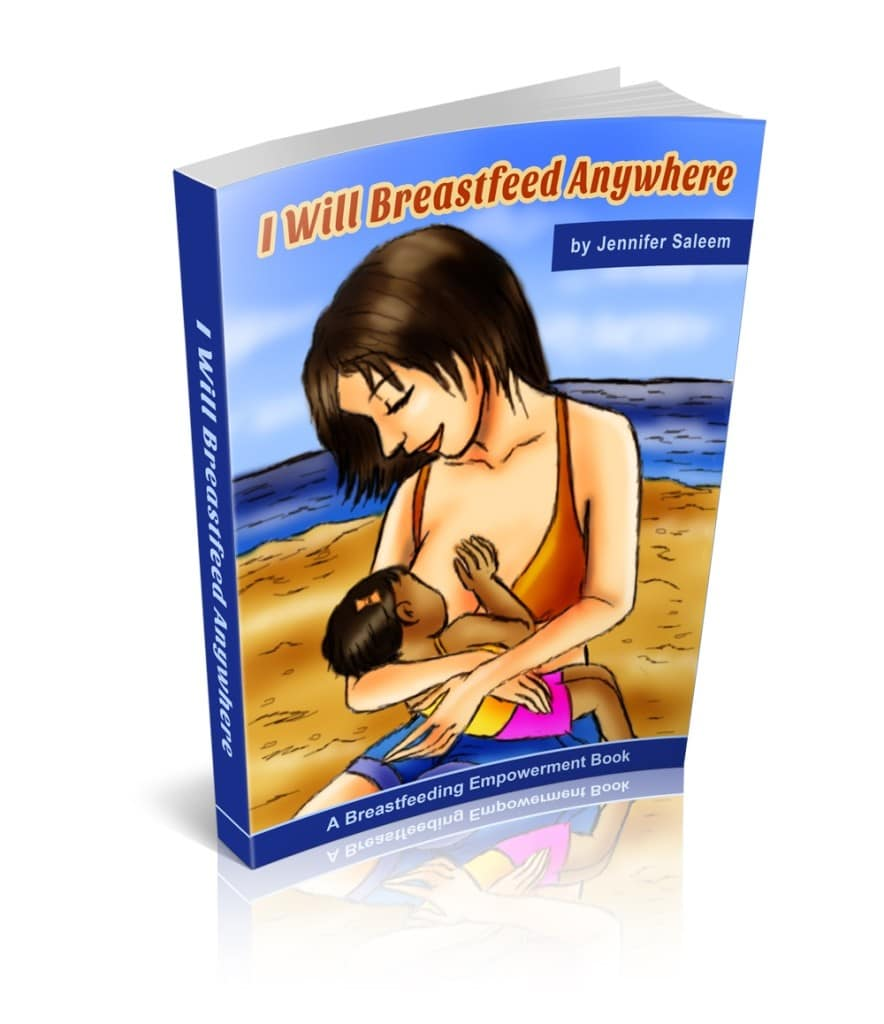 I Will Breastfeed Anywhere Book Cover