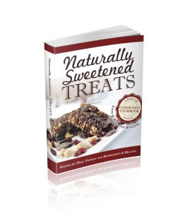 Naturally Sweetened Treats Book Cover