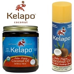 Kelapo Coconut Oil and Coconut Oil Spray