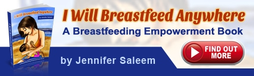 I Will Breastfeed Anywhere Sales Banner