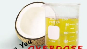 Can you overdose on coconut oil? Check out facts verses myth in this post from HybridRastaMama.com.