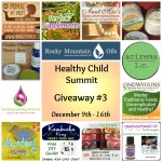 Healthy Child Summit Giveaway #3