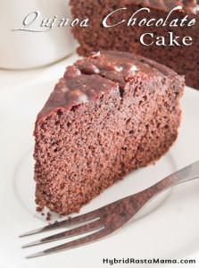 Quinoa Chocolate Cake Recipe (Gluten Free)