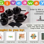 Giveaway: 13- piece Xtrema Ceramic Cookware  (ARV $414.99; Closes 12/15; Open to the U.S.)