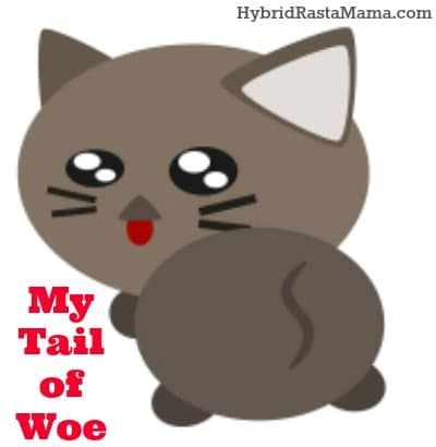 My Tail of Woe: Subtitled – Everything You Wanted To Know About My Butt and Then Some: HybridRastaMama.com