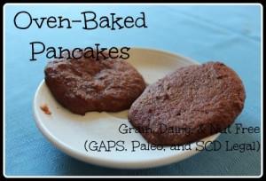 Oven Baked Pancakes: HybridRastaMama.com