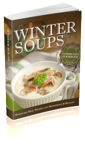 Winter Soups Book Cover