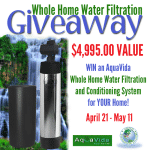 Giveaway Of The Year! A Whole Home Water Filtration System! (ARV $4,995; Closes 05/11)