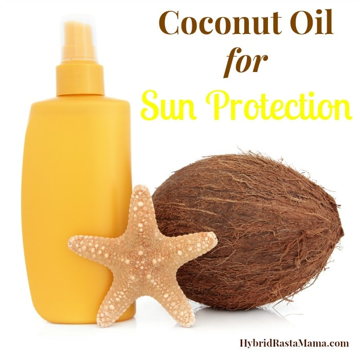 Coconut Oil for Sun Protection