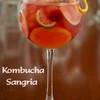 Midori Kombucha Cocktail & Kombucha Sangria