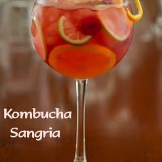 Kombucha Sangria - Kombucha Cocktails