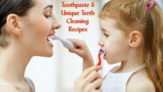 Want to get away from all those chemical laden toothpastes? Try these natural toothpaste suggestions as well as some DIY teeth cleaning recipes. From HybridRastaMama.com