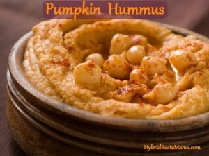This seasonal pumpkin hummus will have you licking the bowl. It is so darn easy to make, nutritious, and delectable that it will become a staple for sure! From HybridRastaMama.com.