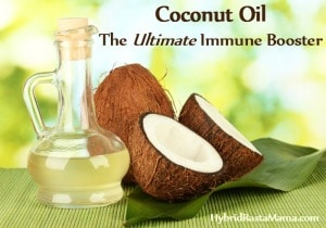 It is hard to know what immune boosting remedies to take. There are gobs of them marketed to us. Good thing coconut oil is the ultimate immune booster!