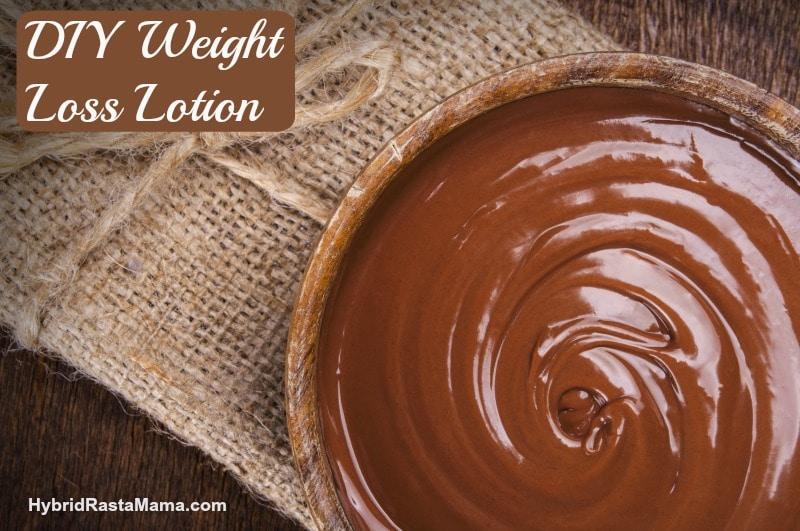 DIY Lotion To Support A Healthy Weight