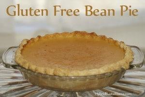 Gluten Free Bean Pie from HybridRastaMama.com