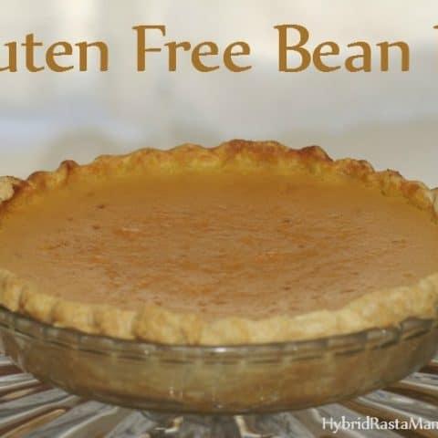 Gluten Free Bean Pie
