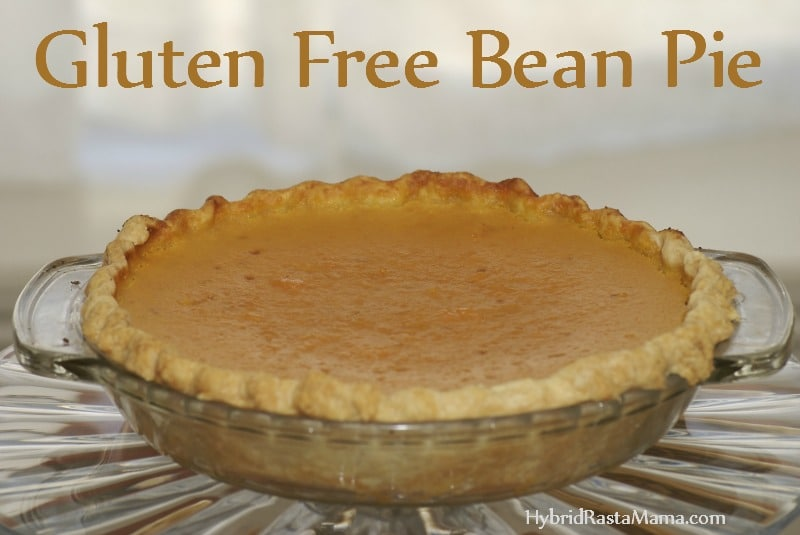 Gluten Free/Grain Free Bean Pie Recipe