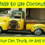 30 Ways to Use Coconut Oil on Your Car, Truck, or Any Vehicle