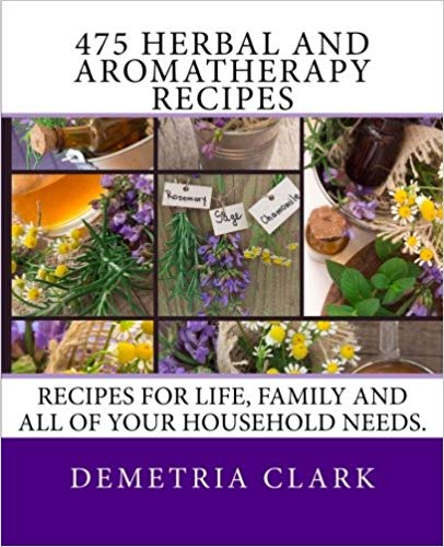 475 Herbal and Aromatherapy Recipes book cover