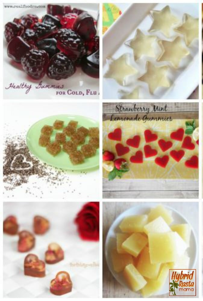 Gummies are loved by children the world over. If you have a child who loves gummies grab one of these 50+ recipes and head to the kitchen! A recipe roundup from HybridRastaMama.com.