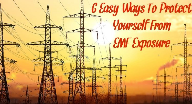 6 Easy Ways To Protect Yourself From EMF Exposure