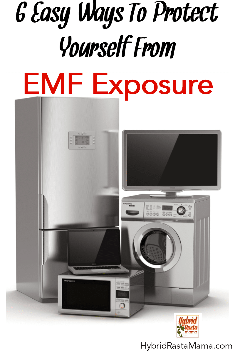 Various appliances that emit EMFs