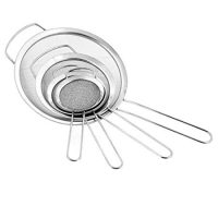 Fine Mesh Stainless Steel Strainers