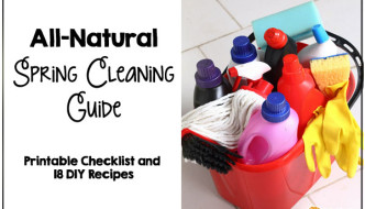 All Natural Spring Cleaning Guide