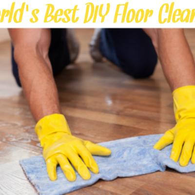 The World's Best DIY Non-Toxic Floor Cleaner
