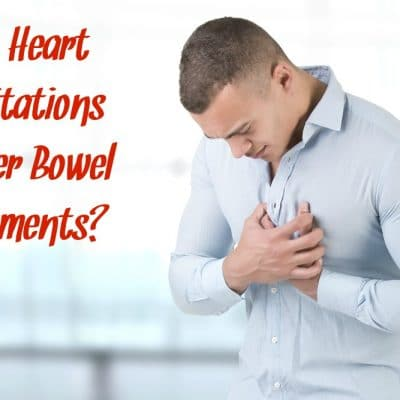 Heart Palpitations Before Bowel Movement?
