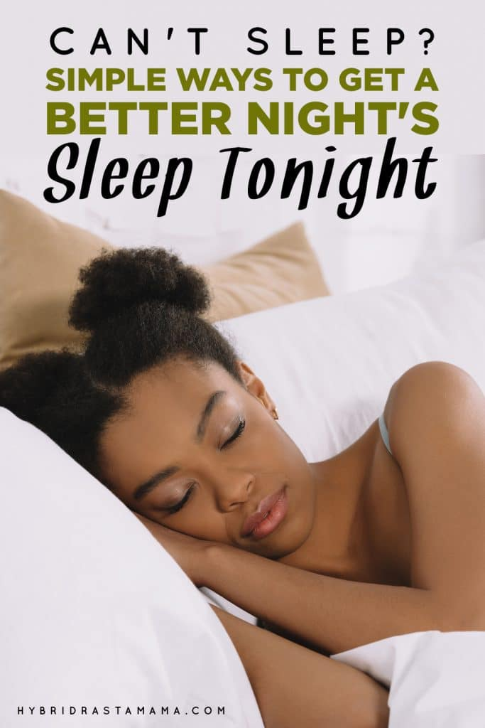 A women who is getting a better night's sleep