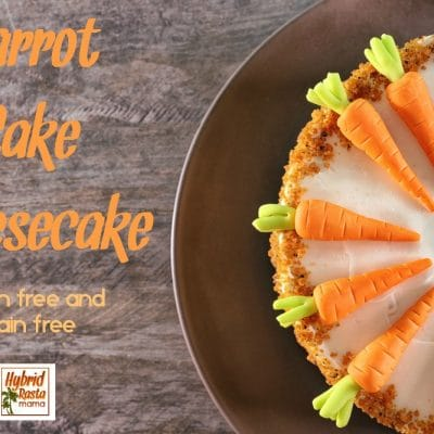 Mouthwatering Carrot Cake Cheesecake + Pineapple Cream Cheese Frosting