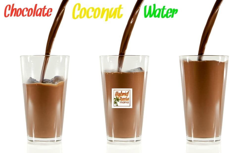 How To Make Chocolate Coconut Water