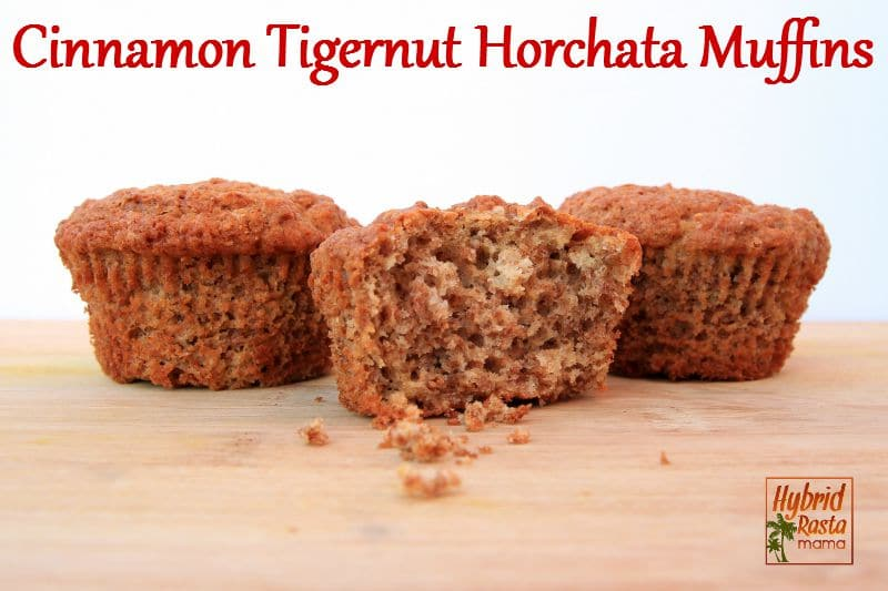 Cinnamon Tigernut Horchata Muffins