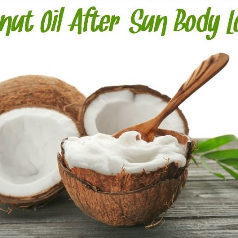 Coconut Oil After Sun Lotion