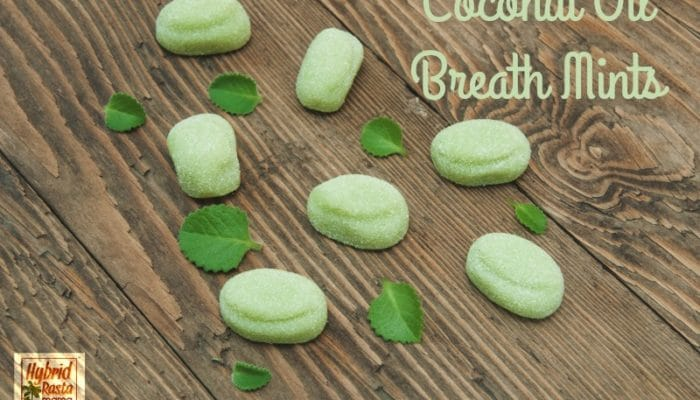 Coconut Oil Breath Mints