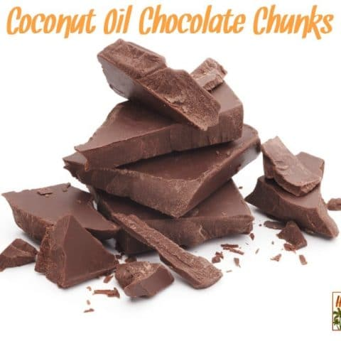 Coconut Oil Chocolate Chunks