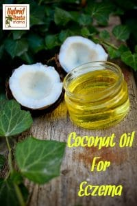Looking to treat eczema naturally? Why not use coconut oil for eczema? It offers a myriad of skin benefits and can ease your eczema woes. Find out how from HybridRastaMama.com.