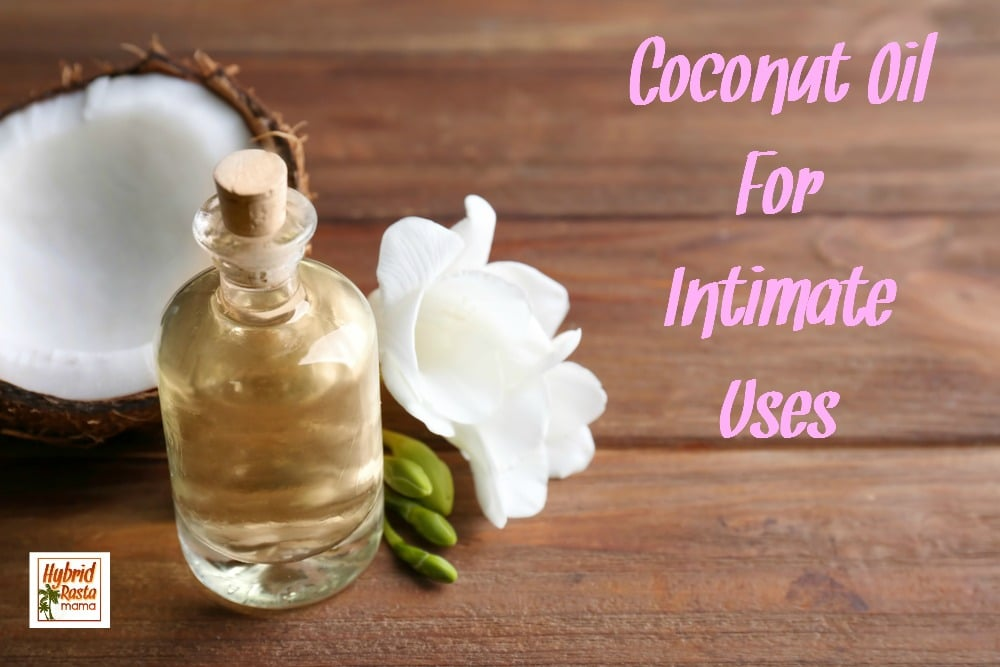 Coconut Oil Lubricant For Intimate Uses