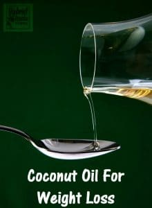 Coconut Oil For Weight Loss from HybridRastaMama.com