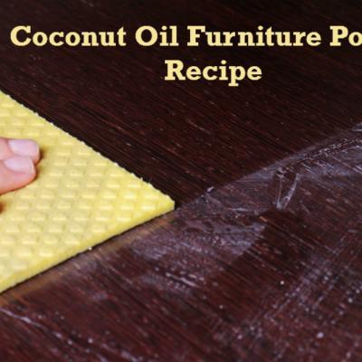 Coconut Oil Furniture Polish Recipe