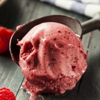 Berry Delicious Coconut Oil Ice Cream