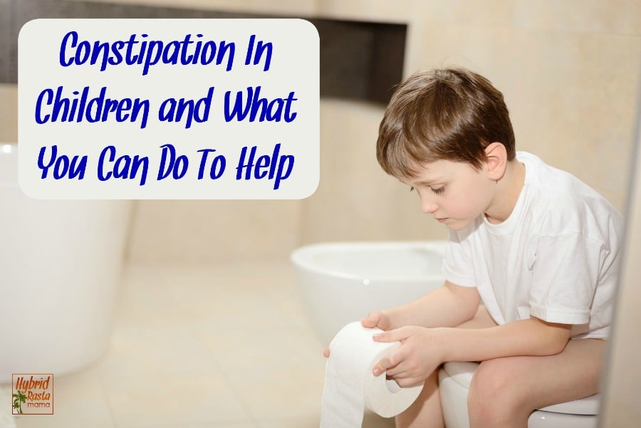 Constipation in children is rough. Good thing there are LOTS of ways to help relieve a bloated bowel naturally and without tears. From HybridRastaMama.com