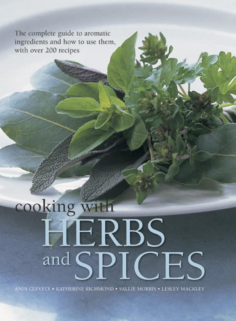 Cooking With Herbs and Spices book cover