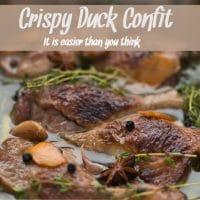 Crispy Duck Confit