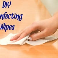 Non-Toxic DIY Disinfecting Wipes
