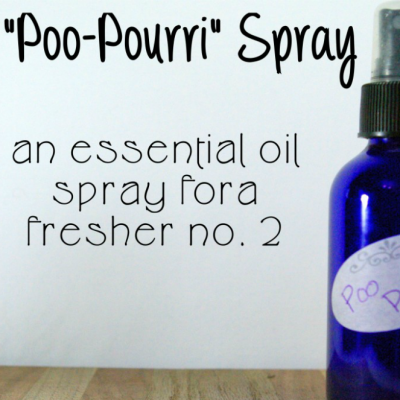 DIY Poo-Pourri Spray For a Fresher No. 2