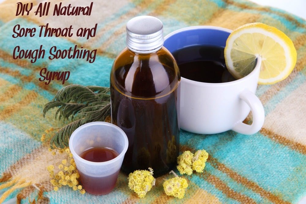 Sore Throat and Cough? Make This Homemade Cough Syrup!