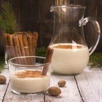 Traditional Eggnog (lower sugar), Coconut Milk Eggnog & Coquito (Puerto Rican Eggnog)
